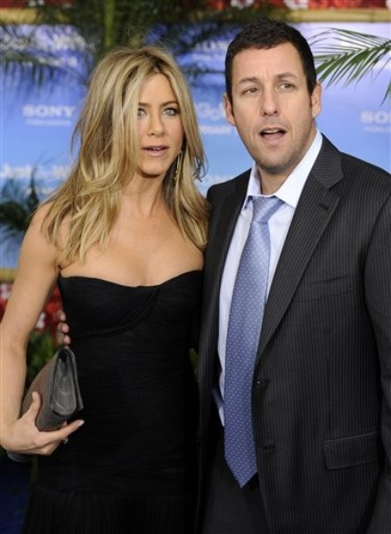 Jennifer Aniston, Adam Sandler