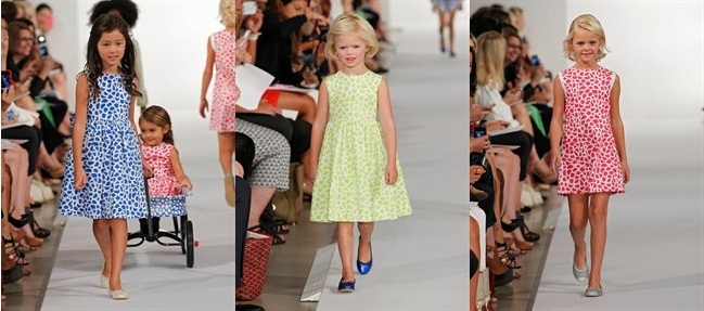 Oscar de la Renta Spring 2013 for girls
