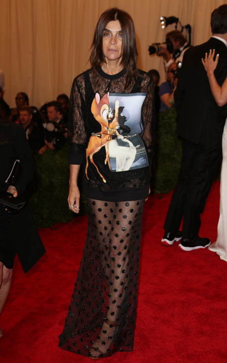 Met ball 2013: Carine Roitfeld/USE