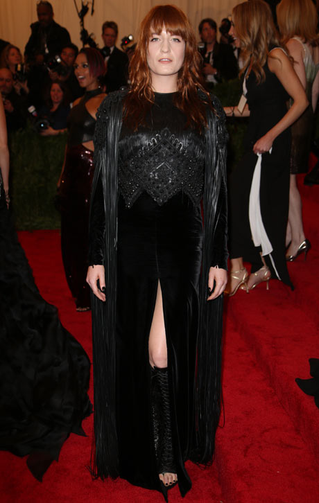 Met ball 2013: Florence Welch