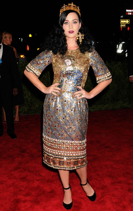 Met ball 2013: Katy Perry