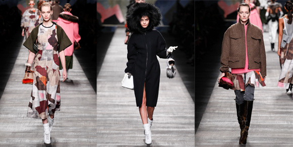 Fendi ready-to-wear Milan 2014-2015