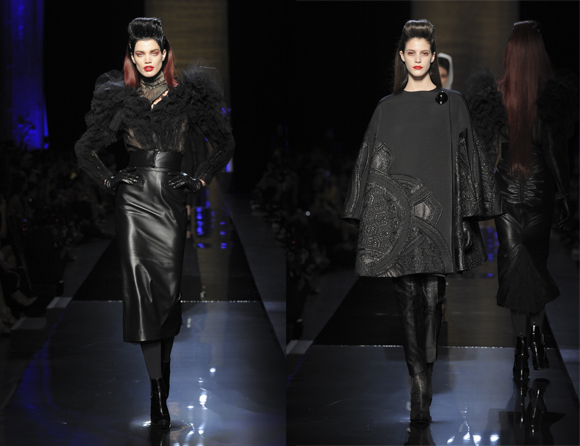 Jean Paul Gaultier Haute Couture 2014-2015 black