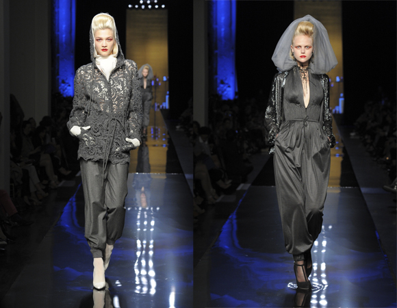 Jean Paul Gaultier Haute Couture 2014-2015 grey
