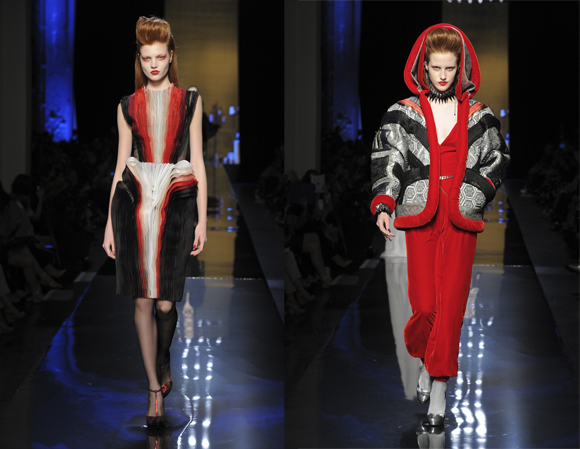 Jean Paul Gaultier Haute Couture 2014-2015 vampire collection