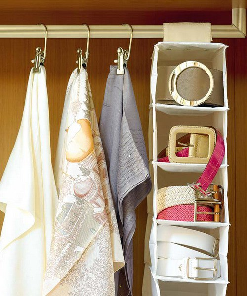DIY SCARVES ORGANIZING HACKS 6