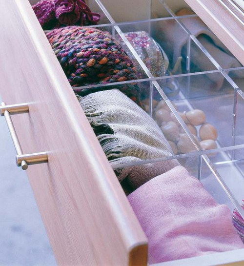 DIY SCARVES ORGANIZING HACKS 7