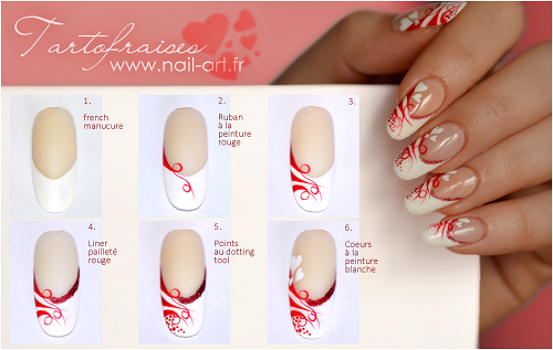 nail art for st val d 2015 tutorial 4